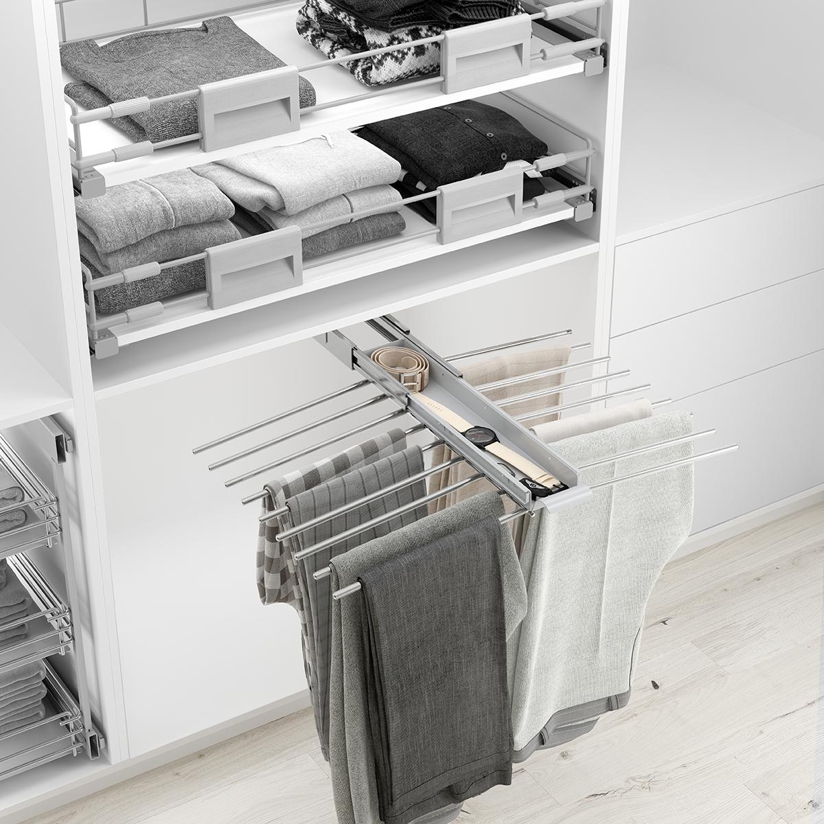 Aprovecha el cambio de armario para poner en orden tus pantalones